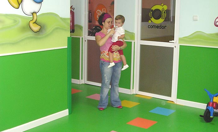 Wall coverings - School vinyl floorings - Rainbow