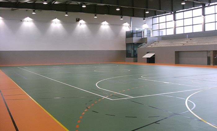 Sports floorings - Vinyl flooring in rolls - Sportex