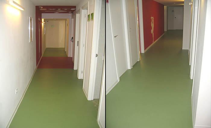 Acoustic flooring in rolls - PVC hotel floorings - Acoustyl