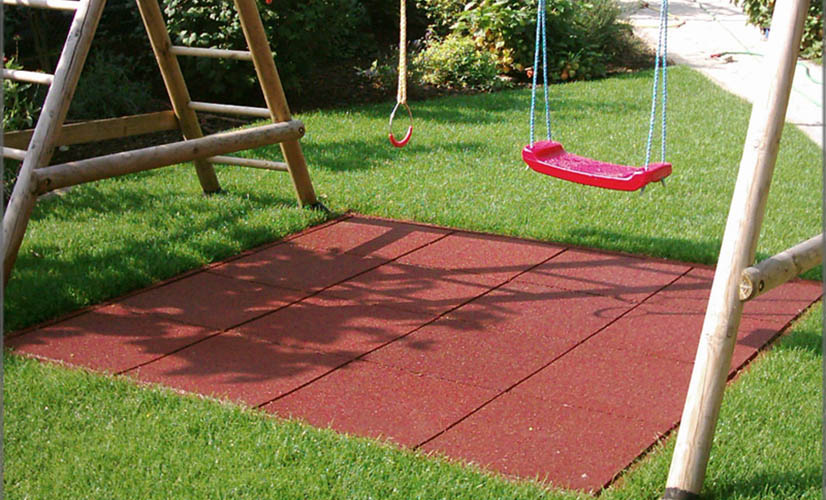 Supragom Presentation Is A Range Of Recycled Rubber Tiles Used In Playgrounds