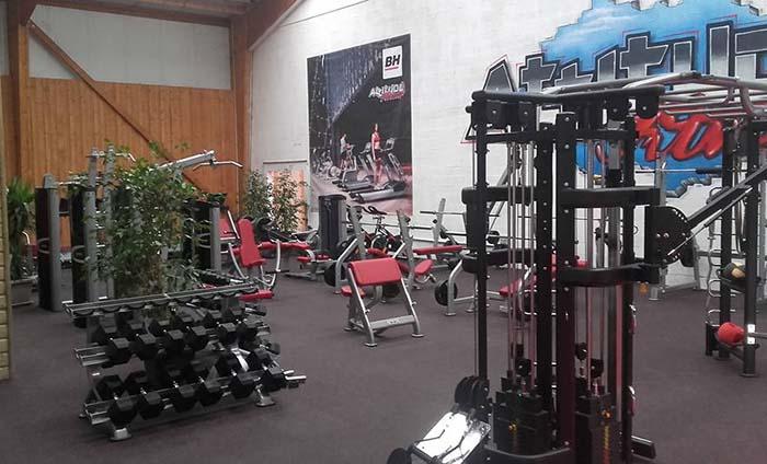Gym floorings - Rubber gym flooring tiles - Energy