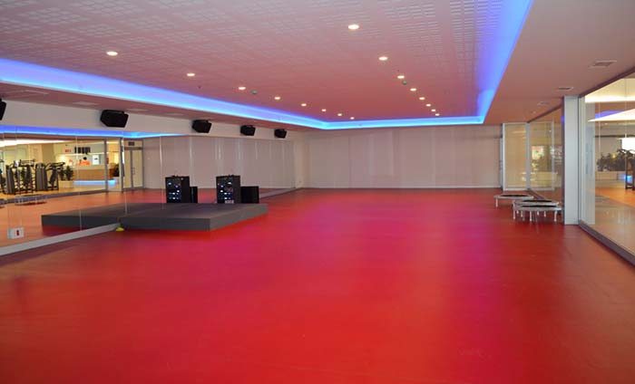 Gym floorings - Solid colour flooring - Sportex