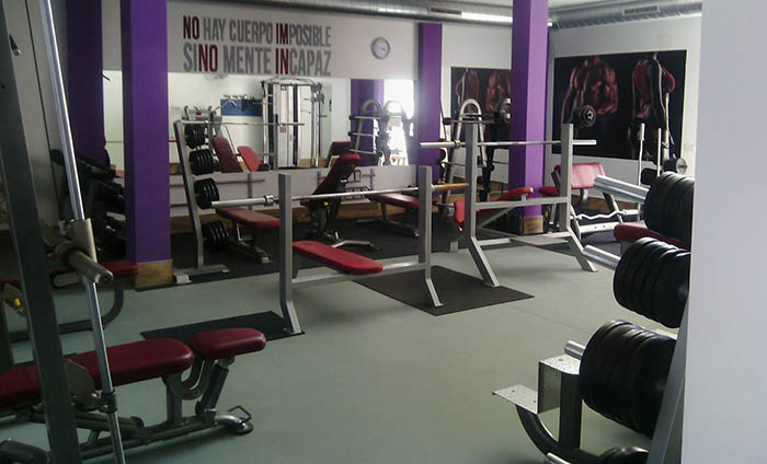 Sports flooring - Gym vinyl floorings - Sportex