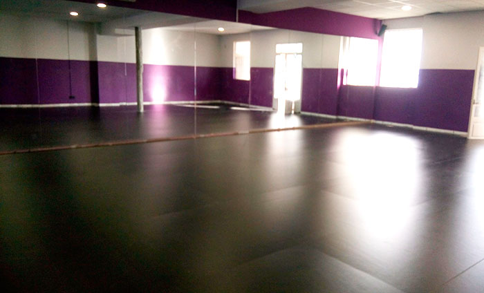Acoustyl Pvc Floorings In A Dance School Of Barcelona